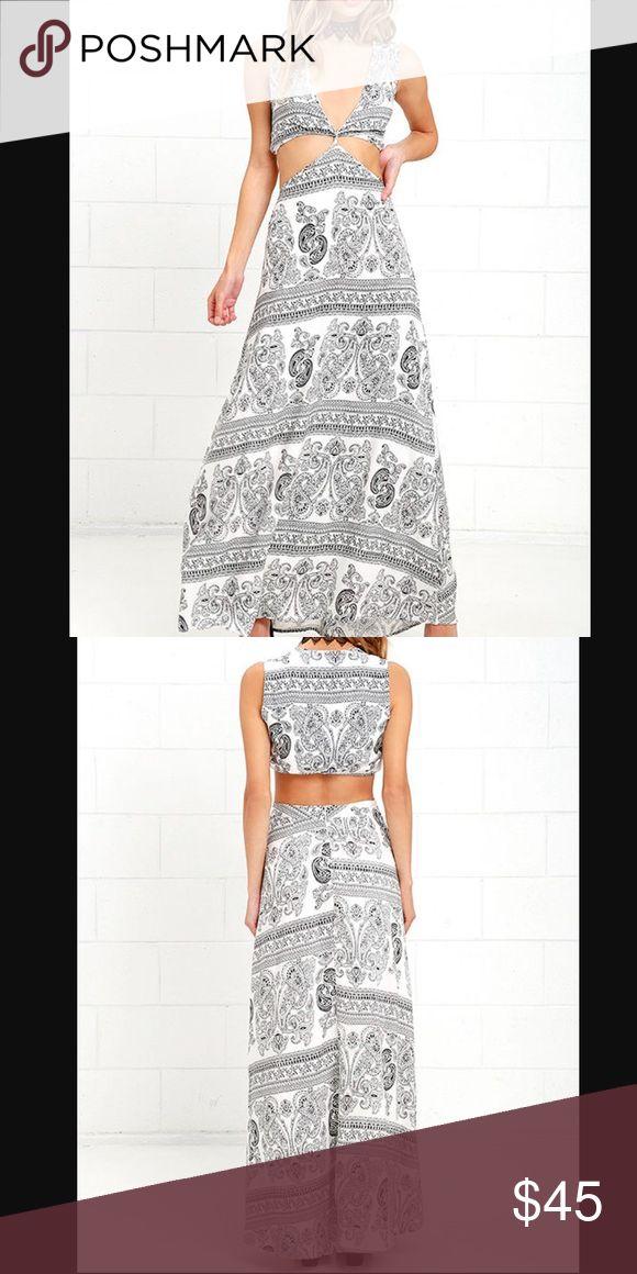 100 viscose maxi dress