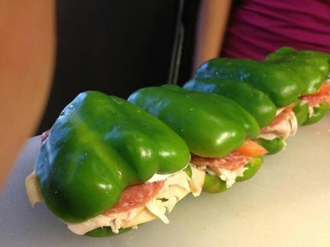 Pepper sandwiches! Put those bad boys on a panini press!