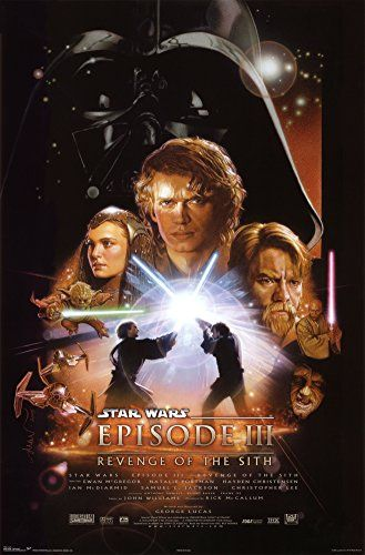 Star Wars - Episode III - Revenge of the Sith Poster Post... https://www.amazon.com/dp/B001G1WDKW/ref=cm_sw_r_pi_dp_x_J-OxybH49ZM9A