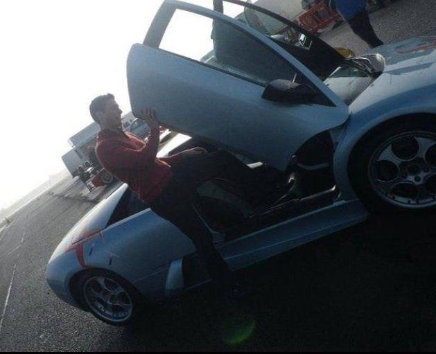 Driving Experience in a Lamborghini Murcielago