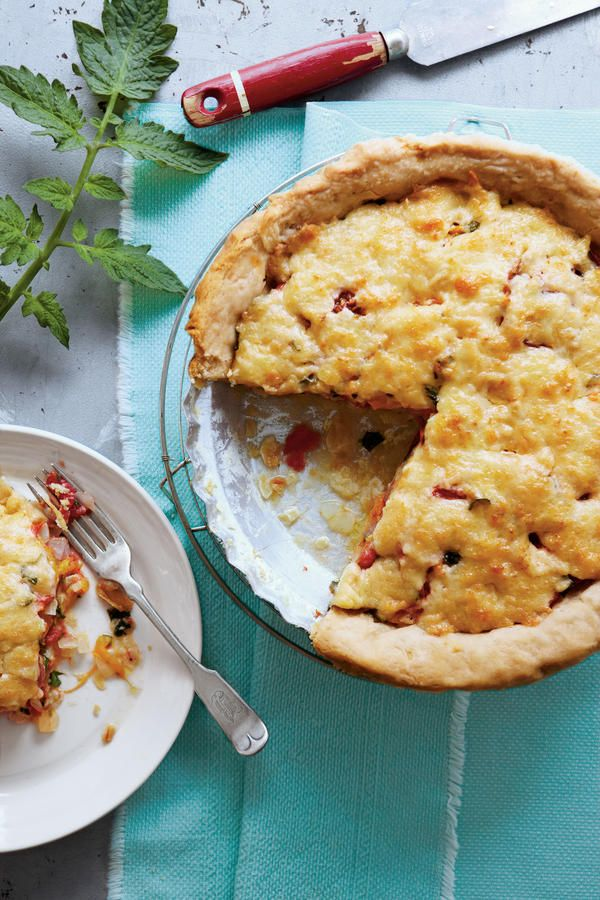 Southern Living Tomato Pie Recipe: 365 Best Images About Classic Southern Recipes On