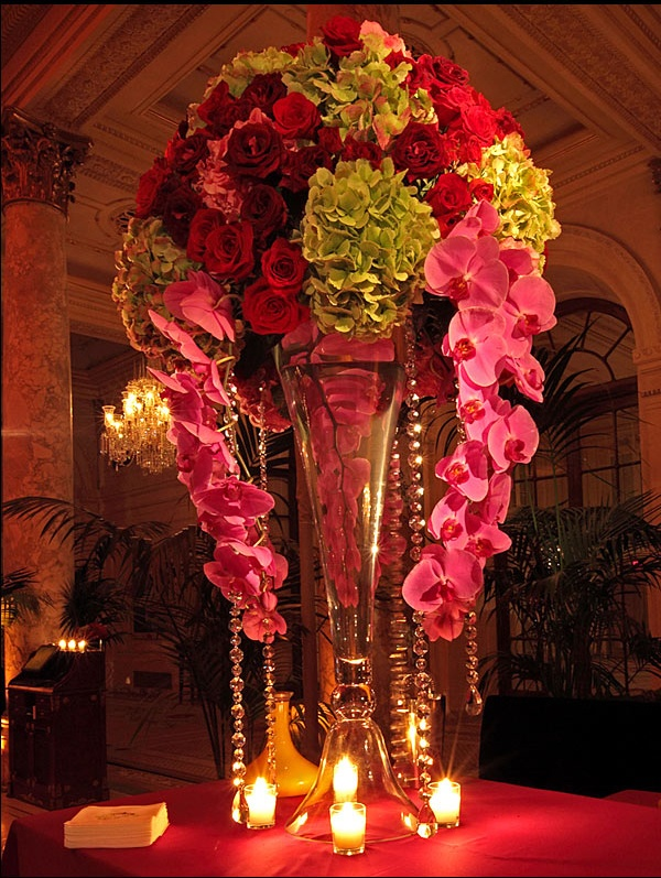 Wedding Floral Design at the Plaza Hotel New York