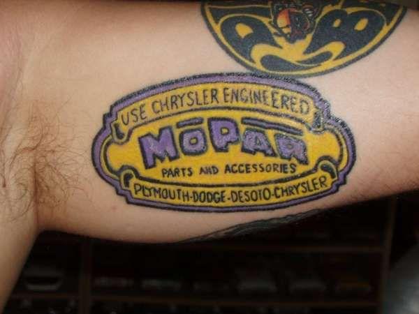 17 Best Images About Mopar Tattoos On Pinterest Cars
