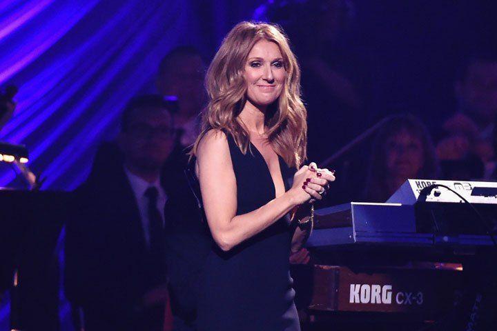 Celine Dion, pictured on June 13, 2015.