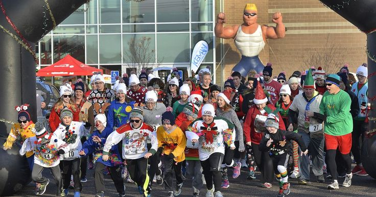 GREATER Activities As the ugly holiday sweater fad sweeps across the nation, runners get silly for 5K