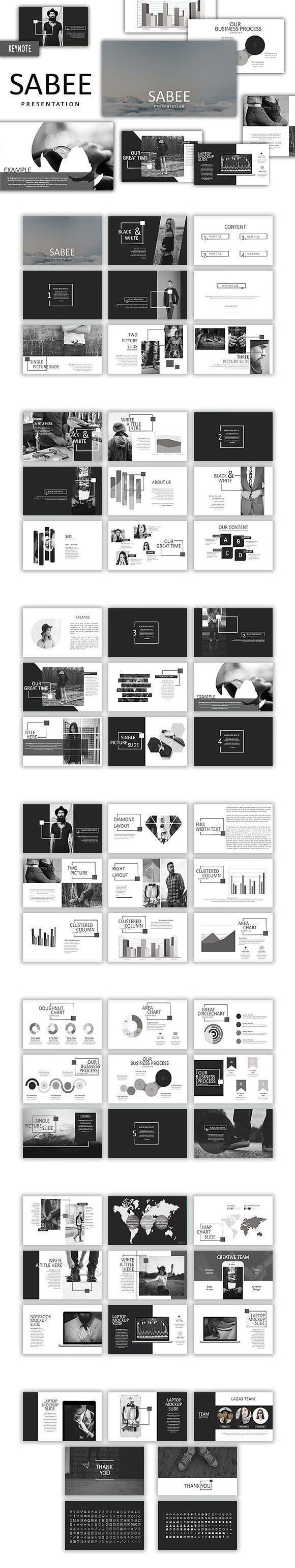 Sabee Keynote Template. Presentation Templates