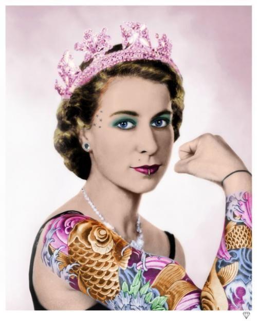 Tattooed Queen by JJ Adams