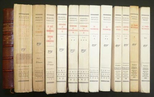 Marcel Proust's A la recherche du temps perdu