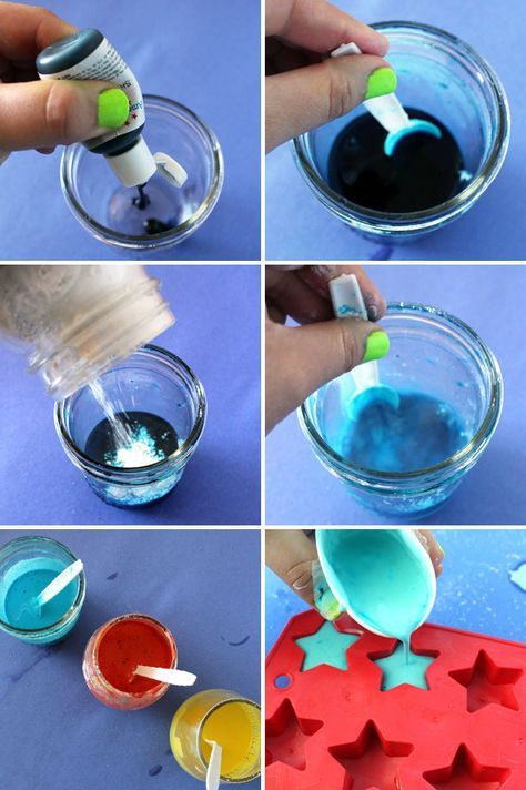Descubriendo Pequemundos: Tiza de colores casera