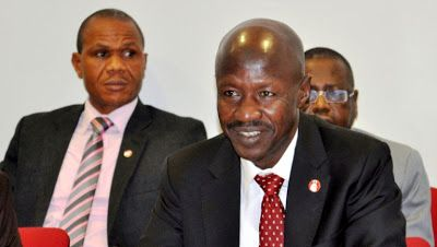 lawyers acting as technical advisers to criminals  EFCCs Magu   The Acting Chairman of the Economic and Financial Crimes Commission EFCC Ibrahim Magu on Wednesday charged members of the Nigerian Bar Association NBA to join hands with the commission to stamp out corruption in the country.  Speaking when members of the NBA paid him a courtesy call on Wednesday Mr. Magu in a remark titled The NBA Must Not Allow Corruption To Kill Nigeria said unprofessional conducts of some lawyers is giving…