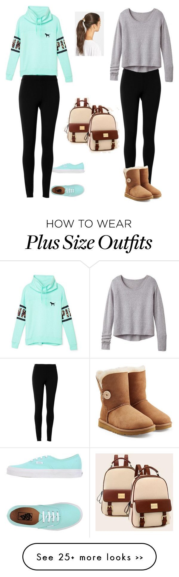 """Untitled #148"" by sophiamsceo on Polyvore featuring Max Studio, Athleta, UGG Australia, Vans, Victoria's Secret PINK, Tasha and BeiBaoBao"