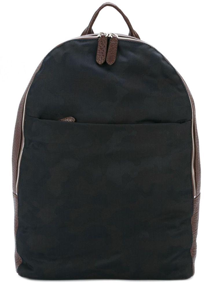 Eleventy камуфляжный рюкзак