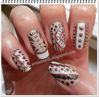 Funny Nails: Projekt Trendy - etno