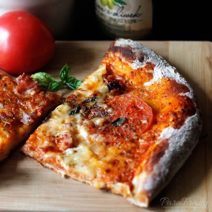 Domowej pizzy zawsze mówimy stanowcze: TAK! http://parafrazy.pl/przepis-na-domowa-pizze/