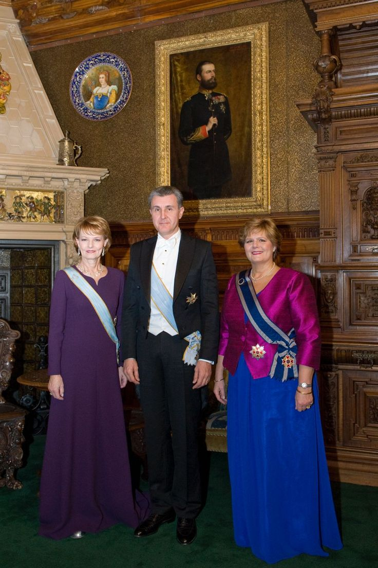 Romanian royals in 2013.