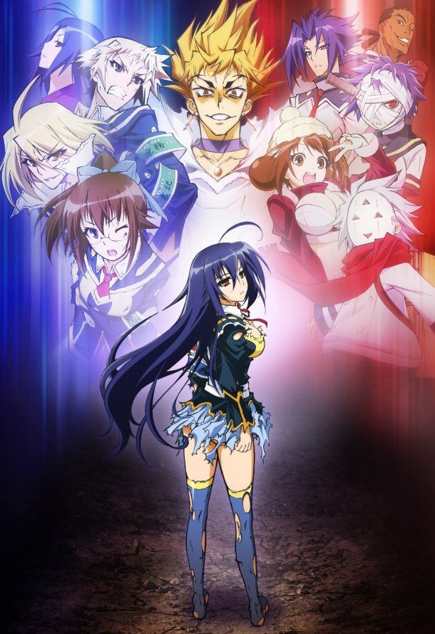medaka box medaka | Medaka Box: Abnormal © » Anime Project - 2 Anos !