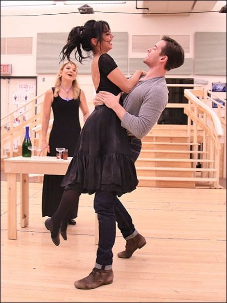 Victoria Clark, Vanessa Hudgens and Corey Cott GIGI the musical