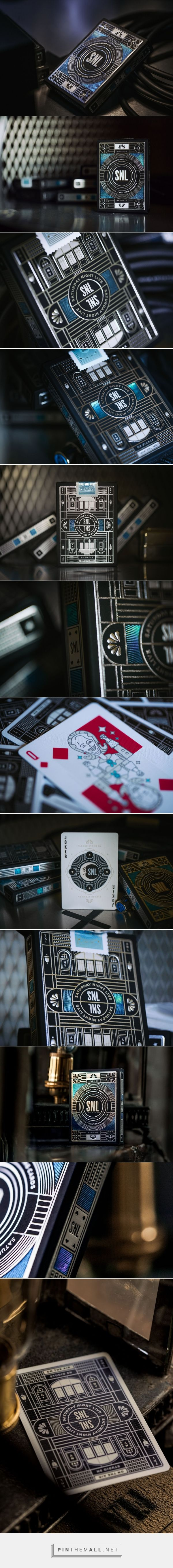 Saturday Night Live x Playing Cards packaging by theory11 - http://www.packagingoftheworld.com/2017/11/saturday-night-live-x-playing-cards.html
