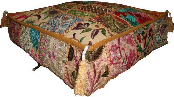 Quadratische Kissen osmanischen/Boden/Sofa von TuganaCraft auf Etsy