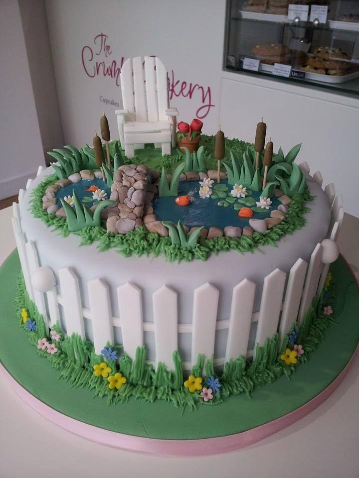 Koi Pond birthday cake                                                                                                                                                     More