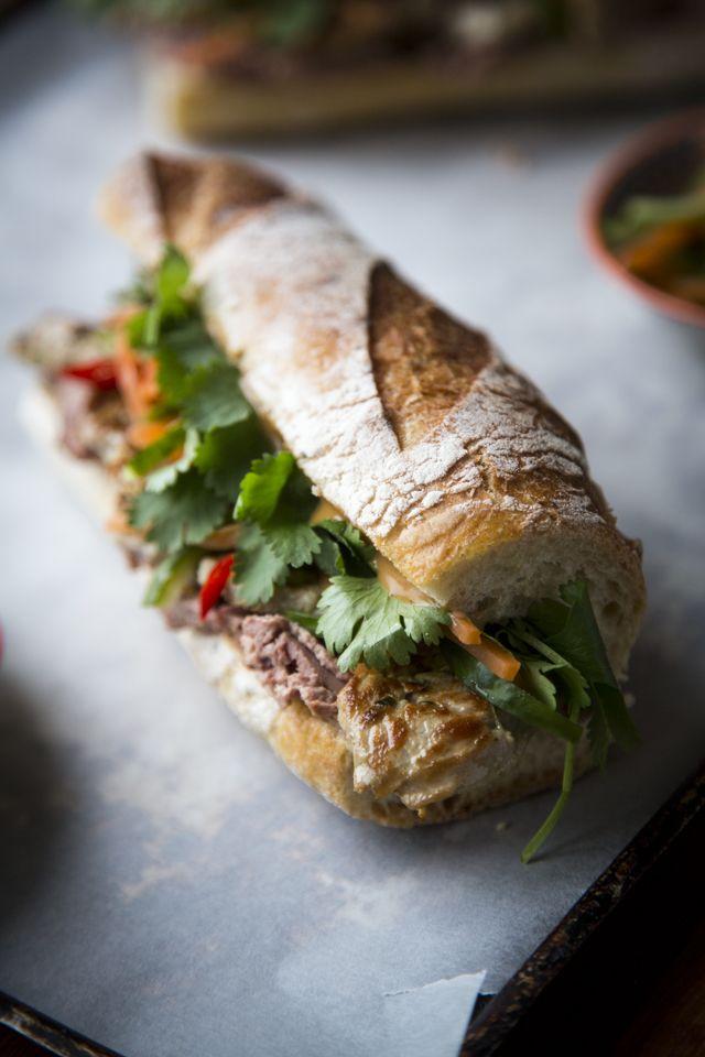 Banh Mi Sandwich...A Vietnamese street food classic! | DonalSkehan.com