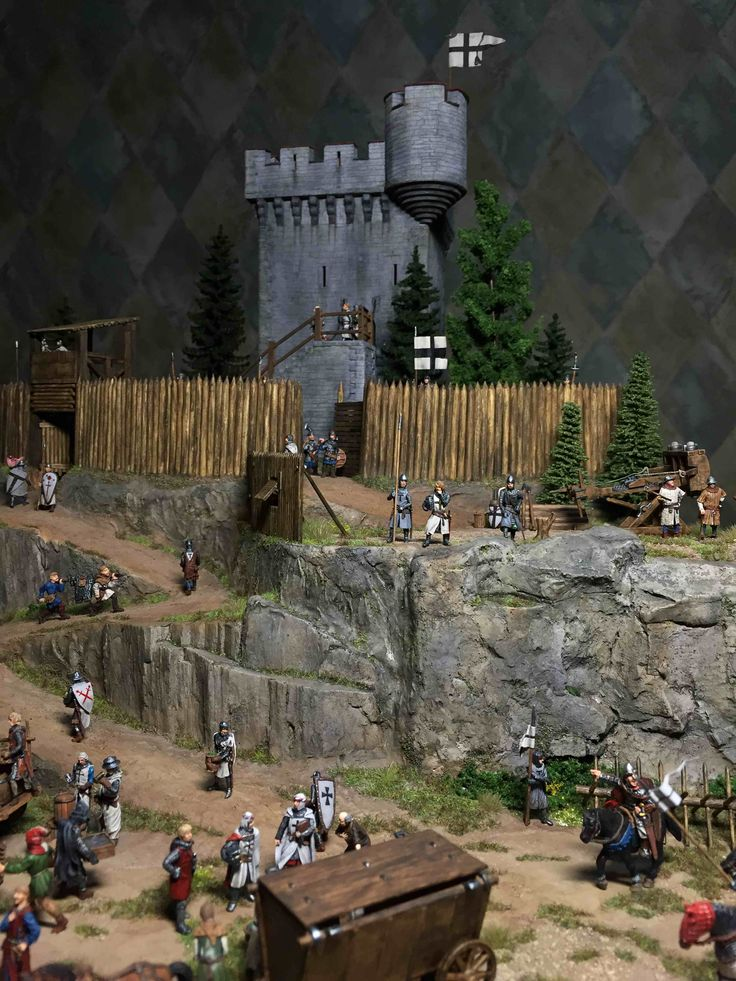 1:72 Castle of Teutonic Order (400*600mm) | Minis - 1/72 ...