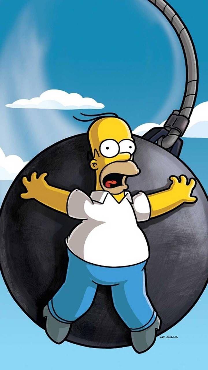Homer The Simpsons Wallpaper Os Simpsons Arte Simpsons The Simpsons Wallpapers
