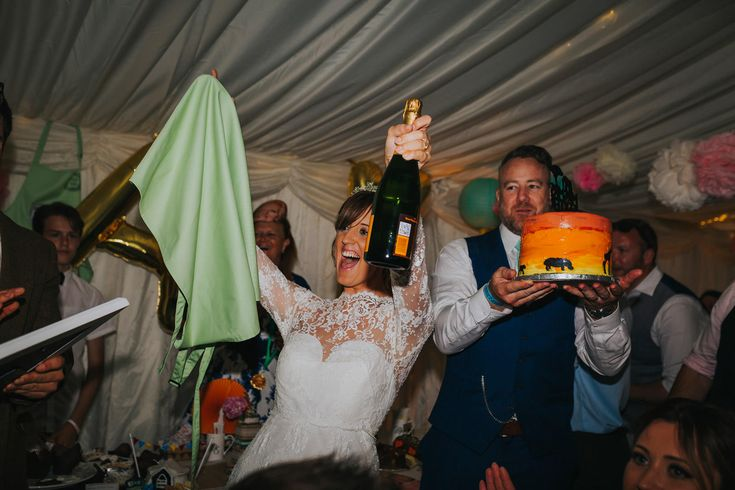 And the winner of the Great Baxter Bake Off is... Photo by Benjamin Stuart Photography #weddingphotography #weddingfun #bakeoff #cake #winner #competition #weddingfun #pudding