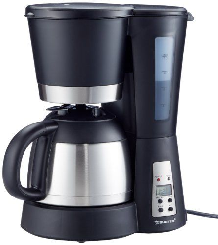HOME Essentials - Kaffeemaschine KAM-9004 [Mit Timer-Programmierung + Anti-Tropf-Feature, Thermoskanne (1,0 l), max. 800 Watt]