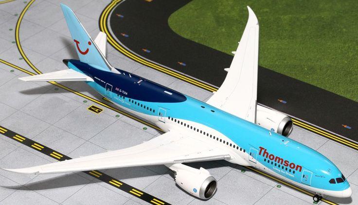 1/200 GeminiJets Thomson Airways Boeing 787-8 Dreamliner Diecast Model