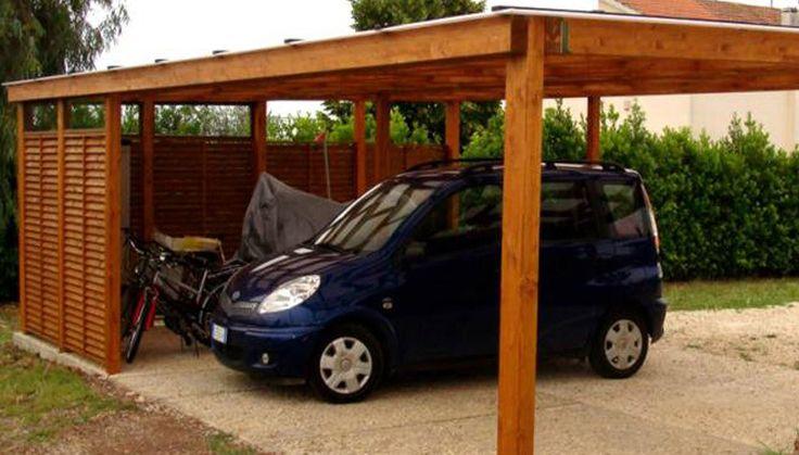 Cobertizos de madera construcci n y dise o techo autos for Cobertizo para exteriores