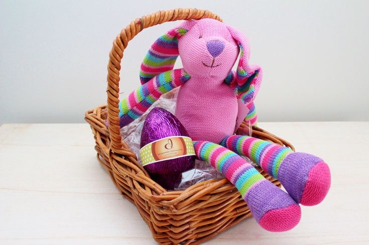 30 best easter eggs gift hampers images on pinterest chocolate easter bunny luxury easter egg in a basket http negle