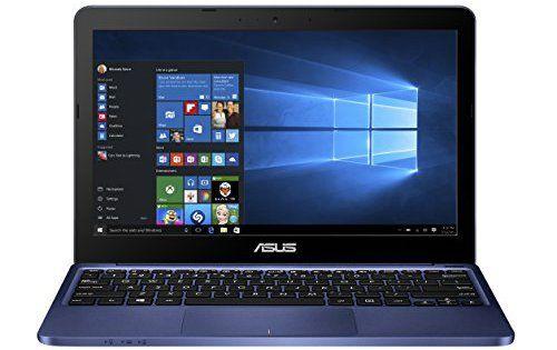 Asus E200HA-FD0079TS PC portable 11.6″ Bleu (Intel Atom, 4 Go de RAM, SSD 32 Go, Windows 10, Garantie 2 ans): Ecran 11.6 pouces HD -…