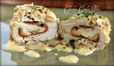 chicken cordon bleu - done in a slow cooker - awesome!
