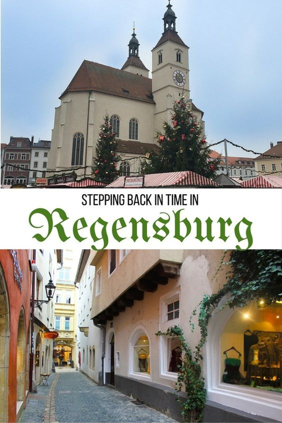 Being one of the world's best preserved medieval cities, it's easy to feel like you're stepping back in time when visiting Regensberg, Germany.