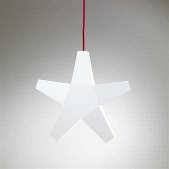 Stjärna adventsstjerne - hvit - SMD Design