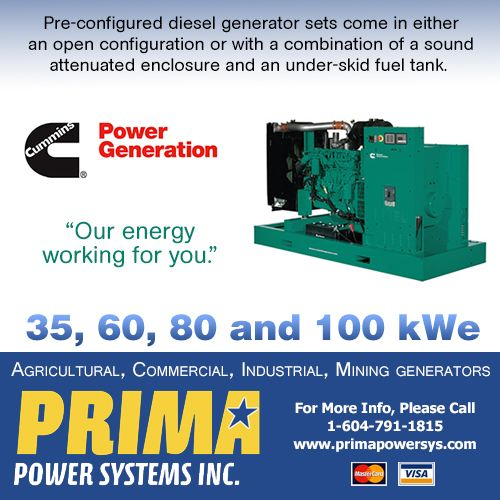 Cummins Power Generation commercial generator sets are fully integrated power generation systems providing optimum performance, reliability and versatility for stationary applications. --