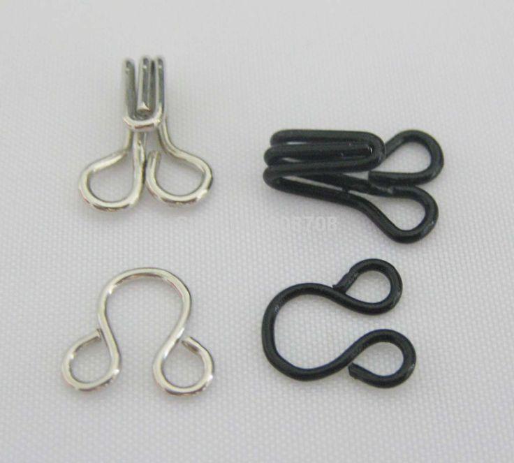 HK002 Одежды Крючки 50 компл. черный + 50 компл. серебристого Металла крючки для одежды аксессуары для одежды