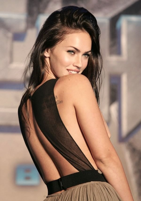Megan Fox.. cuz shes badass and says exactly what on her mind...girl after my own heart .