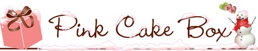 Pink Cake Box