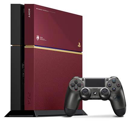 Une PS4 Metal Gear Solid V en édition limitée - Le système PS4 inclus dans