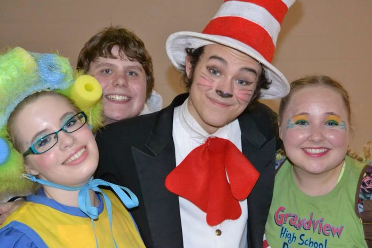 """""""Seussical the Musical"""" production at Grandview High School, Centennial, CO"""