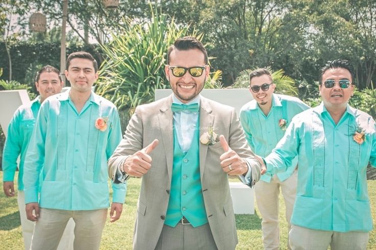 Los acompañantes de las damas de honor o best men - bodas.com.mx