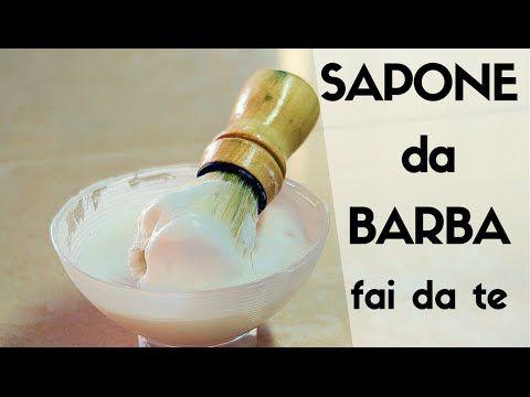 SAPONE DA BARBA FATTO IN CASA DA BENEDETTA - YouTube