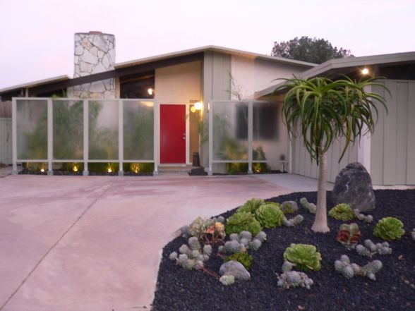 mid century modern ranch before after ranch pinterest. Black Bedroom Furniture Sets. Home Design Ideas