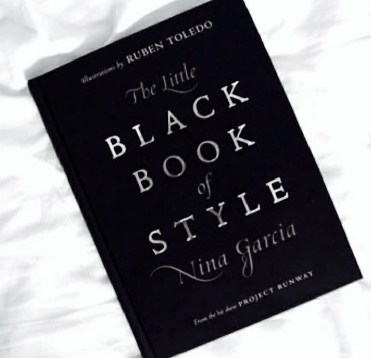 The Little Black Book Of Style By Nina Garcia