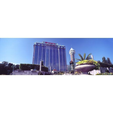 Low angle view of hotel in a city Niagara Falls Ontario Canada Canvas Art - Panoramic Images (27 x 9)