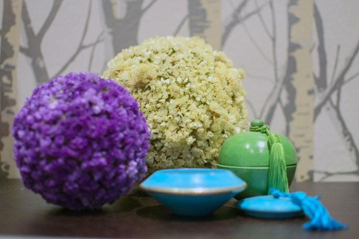 Bola de flores secas hadas y cuscus diy pinterest - Hadas y cuscus ...
