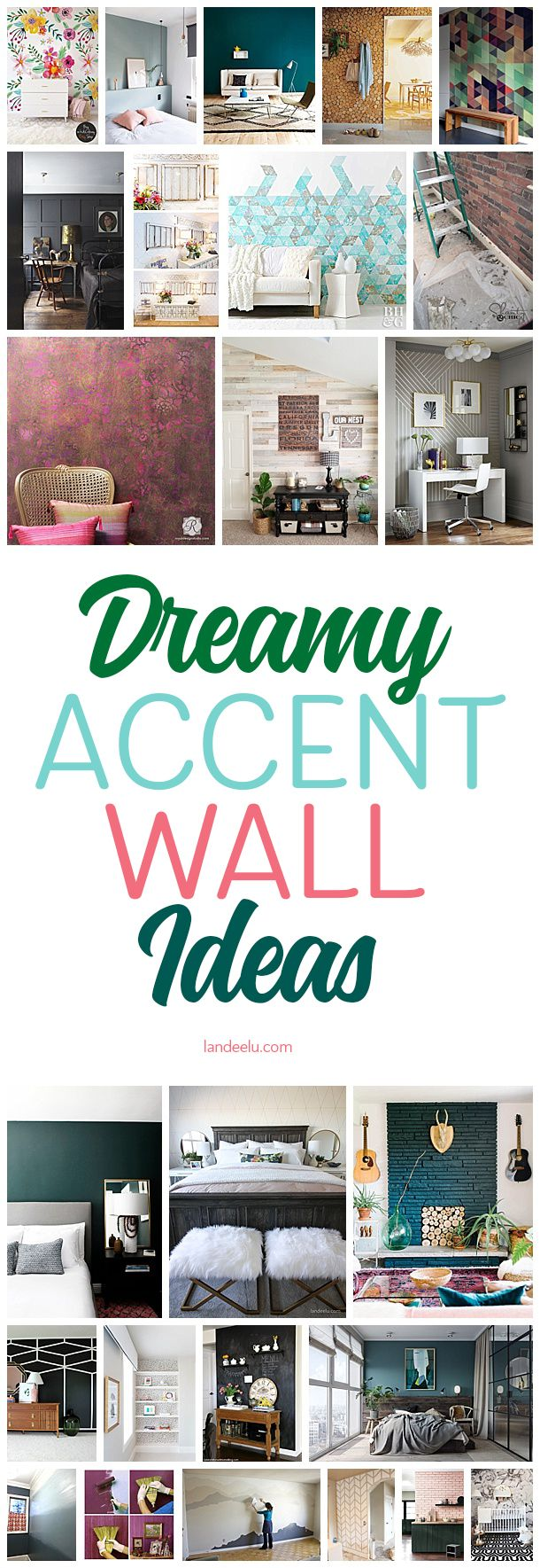 These gorgeous accent wall ideas will take your room from drab to fab! Get inspi...