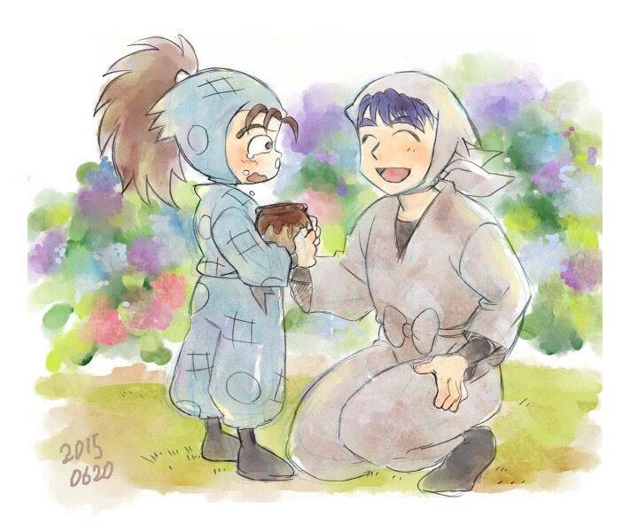 与四郎+喜山太